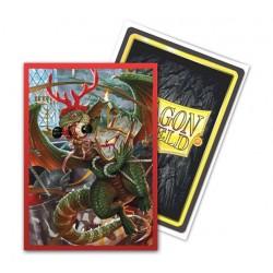 mighty-games-Christmas pockets Dragon Shield (x100)