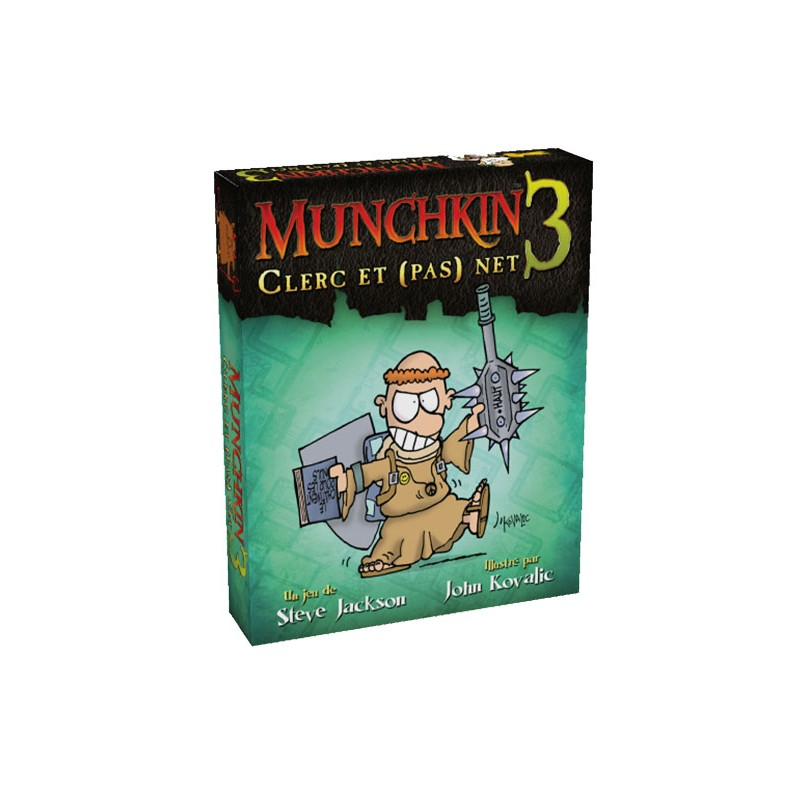 mighty-games-Munchkin 3 - Cleric and (not) net