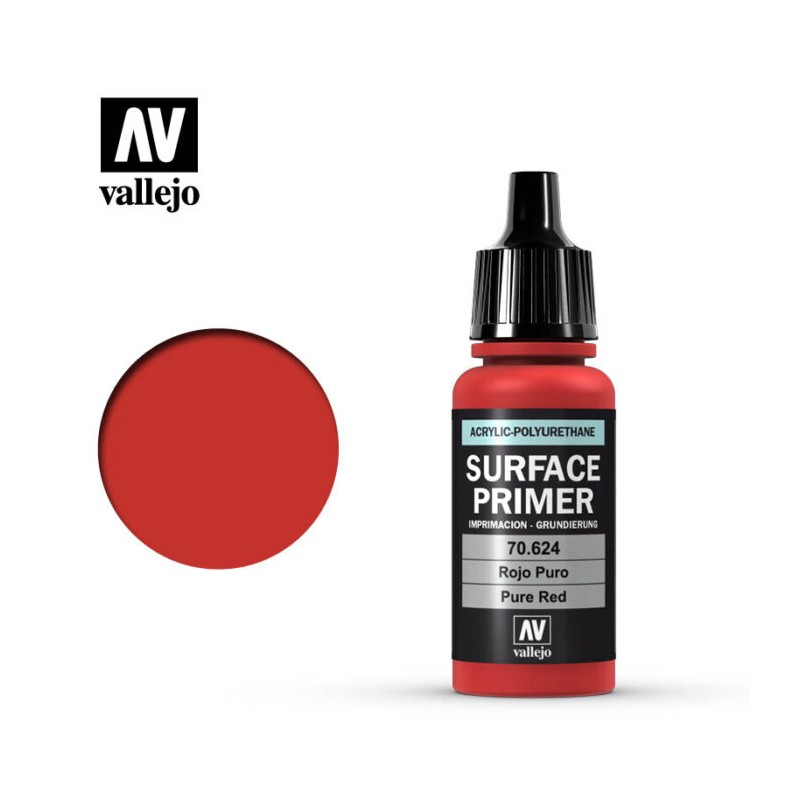 mighty-games-Surface Primer - Pure Red (70.624)
