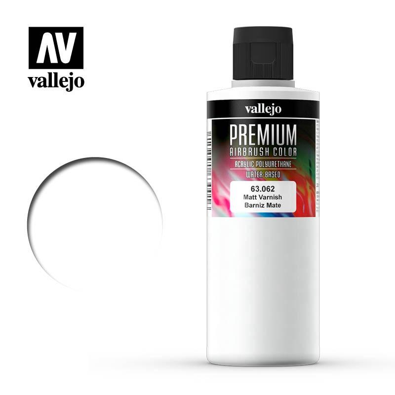 mighty-games-Vallejo Auxiliaries - Matt Varnish Premium 200ml (63.062)