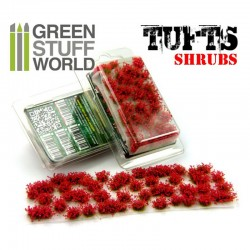 mighty-games-Tufts of Drinks - 6mm - Auto-Duct - RED Flowers