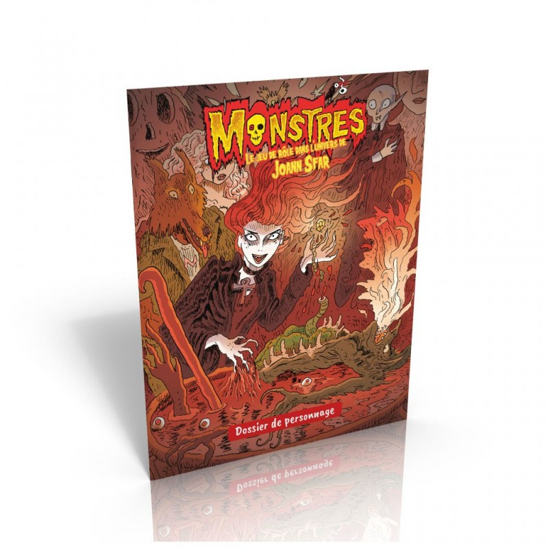 mighty-games-Monstres - Dossier de personnage