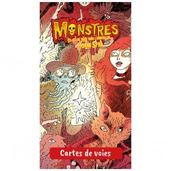 mighty-games-Monstres - Cartes de Voies